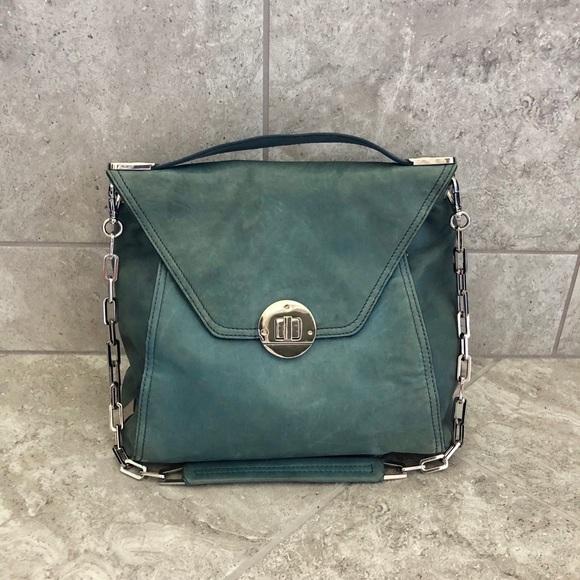 60ffdafd18c2 Kooba Handbags - Kooba Delia Leather bag in aqua!